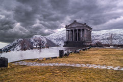 Temple of Garni. In Armenia Royalty Free Stock Photo