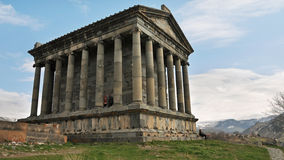 The Temple of Garni in Armenia Royalty Free Stock Image