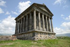 Temple Garni, Armenia. First century Hellenistic temple in Armenia Stock Photography