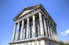 Temple of Garni, Armenia. View of Temple of Garni, Armenia Royalty Free Stock Image