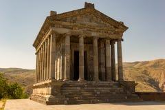 Ancient Temple of Garni. The Temple of Garni. Greco-Roman colonnaded building in Armenia stock photos