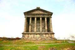 The Temple of Garni is Greco-Roman colonnaded building   near Yerevan , Armenia. Temple of Garni is Greco-Roman colonnaded building   near Yerevan , Armenia Stock Photo