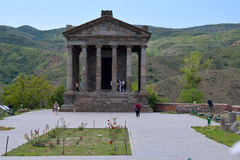 The temple in Garni Stock Image