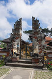 Temple gate on the Bali Royalty Free Stock Photos
