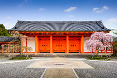 Temple Gate in Kyoto Stock Photo