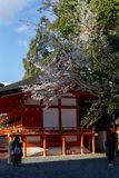 Temple Gate in Kyoto in the spring in sunny weather. April stock photos