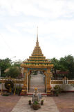 Temple Gate. Wat Buddthabucha Thailand stock photos