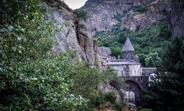 Temple of Geghard : Armenia . royalty free stock photo