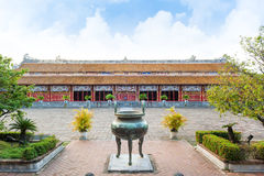 Temple of the Generations in Citadel, Hue - Imperial City Royalty Free Stock Photo