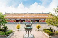 Temple of the Generations in Citadel of Hue - Imperial City Royalty Free Stock Image