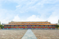 Temple of the Generations in Citadel, Hue - Imperial City Royalty Free Stock Image