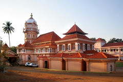 Temple in Goa. Big temple in Goa India Royalty Free Stock Images