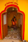 A temple in Goa. Arambol. India. Stock Image