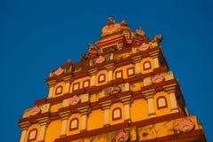A temple in Goa. Arambol. India. Stock Photo
