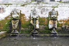 The temple of Goa Gajah near Ubud Royalty Free Stock Image
