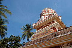 Temple in Goa, India Royalty Free Stock Images