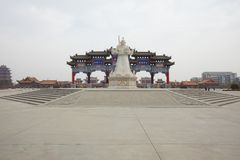 Temple for The god of wealth Royalty Free Stock Photography