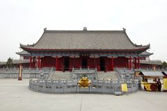 Temple for The god of wealth Royalty Free Stock Photo
