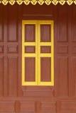 Temple  gold windows Stock Image