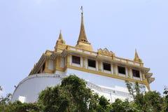 Temple of the Golden Mount. Wat Saket  in Bangkok ,Thailand Royalty Free Stock Images