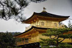Temple of the Golden Pavilion Royalty Free Stock Image