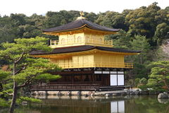 The Temple of Golden Pavilion Stock Photos