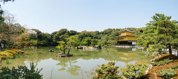 The Temple of Golden Pavilion Stock Images
