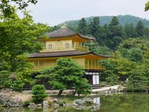 Temple of the Golden Pavilion royalty free stock photo