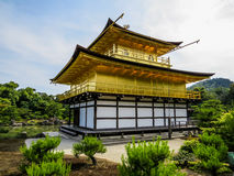Temple of the Golden Pavilion, Kyoto  Stock Image