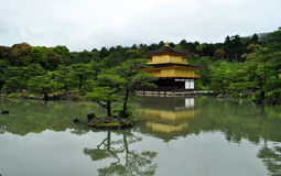 Temple of the Golden Pavilion - Kyoto Stock Photo