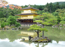 The temple of the Golden Pavilion Stock Photos