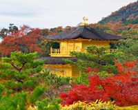 Temple of the Golden Pavilion Royalty Free Stock Photography