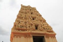 Temple Gopuram. Dwaraka tirumal Temple Gopuram Royalty Free Stock Image