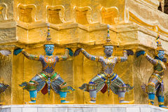 The temple in the Grand palace a Royalty Free Stock Photography