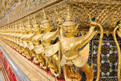 The temple in the Grand palace a Royalty Free Stock Photo