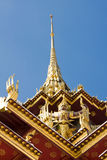 The temple in the Grand palace area Stock Image