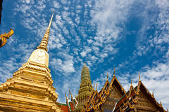 The temple in the Grand palace area. Bangkok Stock Photo
