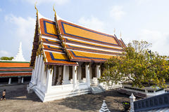 Temple in the Grand Palace area in Bangkok Stock Images