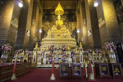 Temple at the Grand Palace, Bangkok Royalty Free Stock Photos