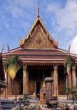 Temple, Grand Palace, Bangkok, Thailand. Royalty Free Stock Photo