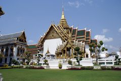 Temple, The Grand Palace, Bangkok,Thailand, Asia Stock Image