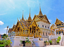 Temple in Grand Palace Emerald Buddha (Wat Phra Kaew), Bangkok Stock Images