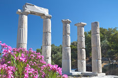 Temple of the Great Gods at Samothraki Stock Photo