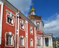Temple of the Great Martyr Nikita on Staraya Basmannaya Street, Moscow, Russia Stock Image
