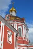 Temple of the Great Martyr Nikita on Staraya Basmannaya Street, Moscow, Russia Stock Photo