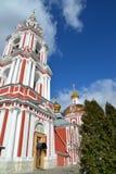 Temple of the Great Martyr Nikita on Staraya Basmannaya Street, Moscow, Russia Stock Photography