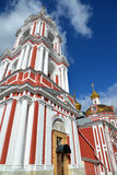 Temple of the Great Martyr Nikita on Staraya Basmannaya Street, Moscow, Russia Royalty Free Stock Images