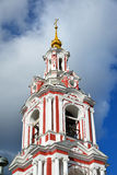 Temple of the Great Martyr Nikita on Staraya Basmannaya Street, Moscow, Russia Royalty Free Stock Images