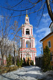 Temple of the Great Martyr Nikita on Staraya Basmannaya Street, Moscow, Russia Royalty Free Stock Photography