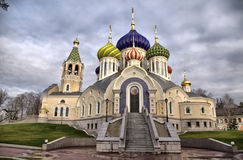Temple of the Great Prince Igor. Temple of the Holy Great Prince Igor of Chernigov in Peredelkino in the Moscow region Royalty Free Stock Images